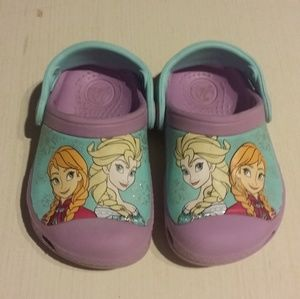 Disney Frozen Girls Crocs